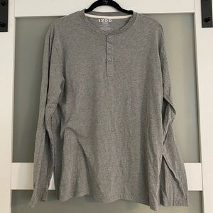 Men's Gray Comfortable Long Sleeve Shirt